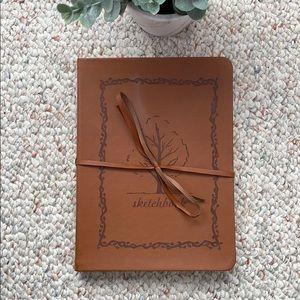 Leather Art sketchbook